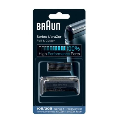 Braun Replacement Foil & Cutter - 10B, Series 1,FreeControl - 1000 Series
