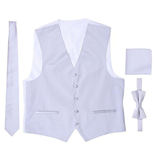 Tuxedo Vest Large Tie - 5
