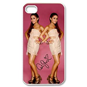 Diystore Hard Plastic American Actress And Pop Singer Ariana Grande iPhone 4 4S Case hjbrhga1544 by ruishername