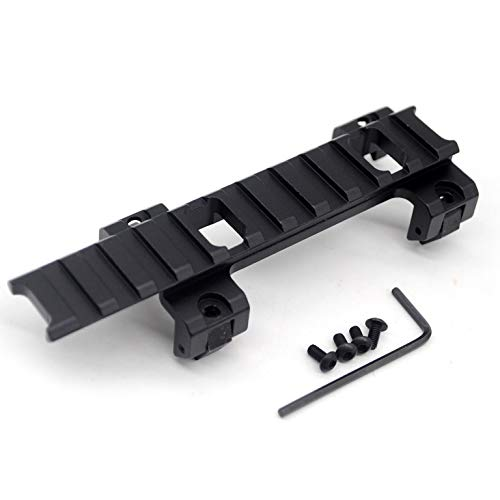 ny Weaver Rail Extension Scope Mount Adapter Claw with 11 Slots for MP5 GSG5 G3 Rail Bracket Clip ()