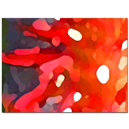 Red Sun by Amy Vangsgard, 35×47-Inch Canvas Wall Art