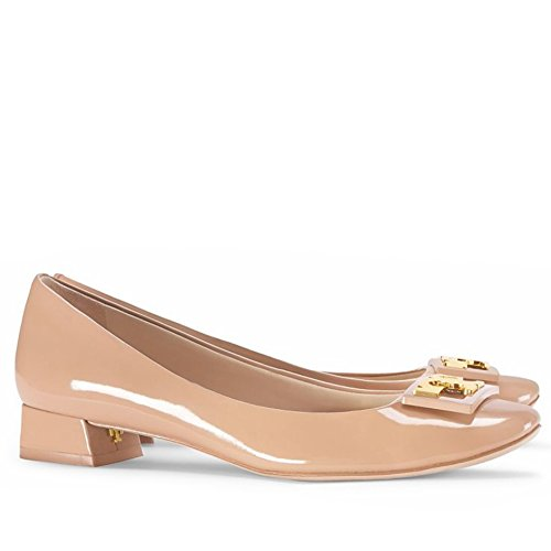 Pictures of Tory Burch Gigi Pump Shoes Leather (8 Tory Beige) 1