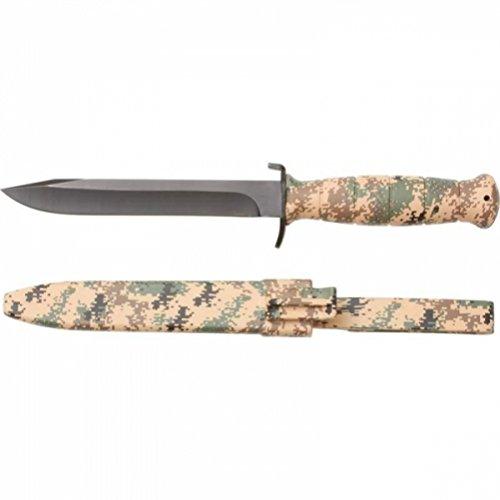 Maxam SKFB722DC Overall Fixed Blade Digital Camo Knife with Sheath