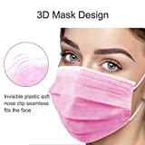 50pcs Disposable Face Mask with Upgraded Elastic