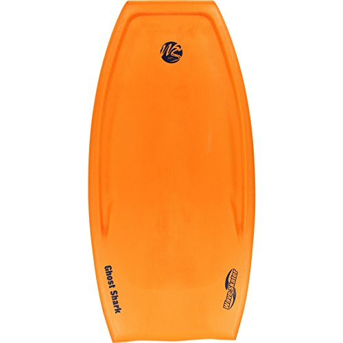 Wave Skater Bodyboard - Ghost Shark 48'' Orange by Wave Skater