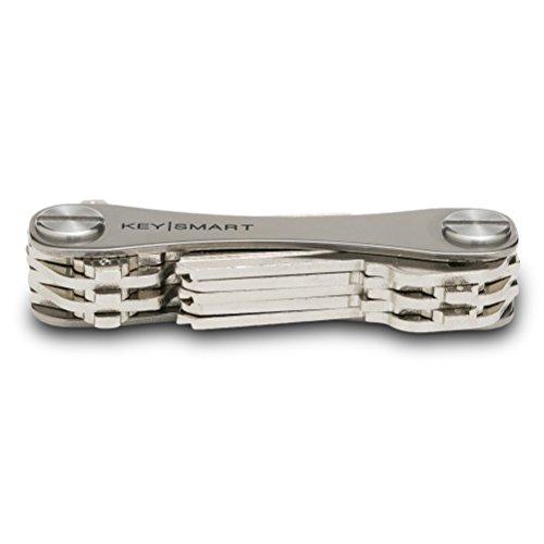 KeySmart up to 14 Keys, Titanium Compact Key Holder and Keychain Organizer