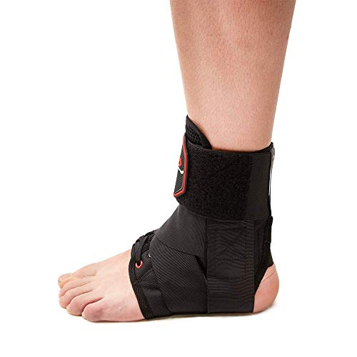 McDavid 195 Deluxe Ankle Brace with Strap (Black, Small) by McDavid (Image #4)