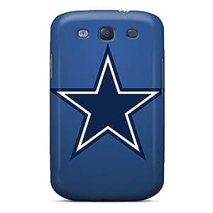 Scratch Protection Cell-phone Hard Cover For Samsung Galaxy S3 (GXW3763JOKj) Custom Beautiful Dallas Cowboys Skin