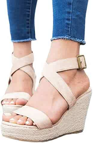 4354e4e5868 Shopping 11 - 2 Stars & Up - Platforms & Wedges - Sandals - Shoes ...