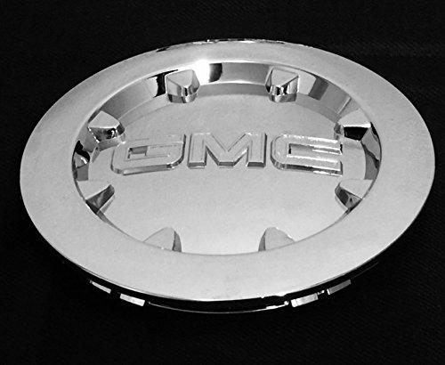 "- NEW GMC SIERRA 1500 YUKON XL DENALI CHROME CENTER CAP WHEEL HUB 20"" 2007 2012 (ONE PIECE)"