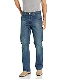 Authentics Men's Premium Relaxed Fit Boot Cut Jean