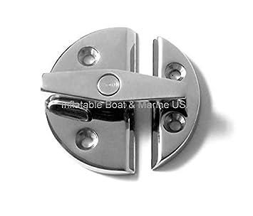 Stainless Steel 4pcs Boat Hatch Latch Door Catch Turn Button Twist Latch
