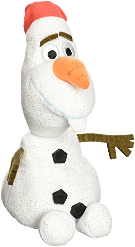 Ty Disney Frozen Olaf the Snowman with Santa hat - 8