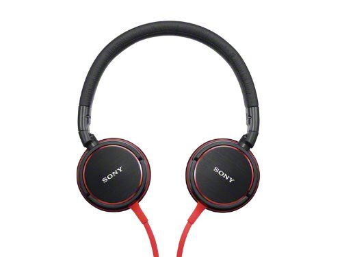 Sony Stereo Headphones | MDR-ZX600 R Red
