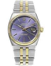 Oysterquartz Quartz Male Watch 17013 (Certified Pre-Owned)