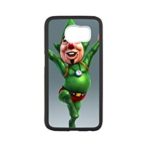 Samsung Galaxy S6 Cell Phone Case Black_The Legend of Zelda The Wind Waker Tingle_007 FY1460837