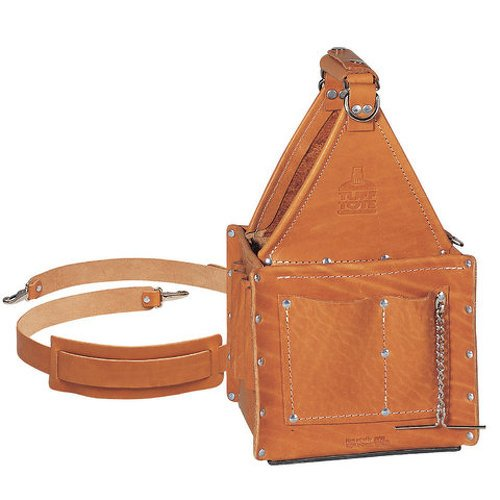 leather tool tote bag