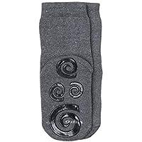 Meia Home socks antiderrapante, Lupo, Unissex Criança
