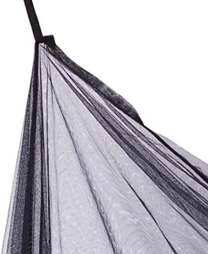 Ultra Large Hanging Bed Curtain Netting for Baby 1 Entry,for Single to King Size Beds Camping Bed Canopy with 100 led String Lights White Girls or Adults Kids Patio Mosquito Net for Bed