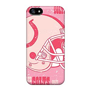 New Indianapolis Colts Tpu Cases Covers, Anti-scratch WFR4056eMUB Phone Cases For Iphone 5/5s Black Friday