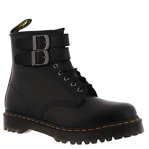 10 Eye Boot - Dr. Martens Women's 1460 ALT 8 Eye Boots, Black, 10 M US