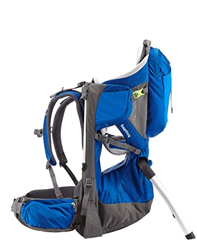 Thule Sapling Child Carrier, Slate/Cobalt by Thule (Image #5)