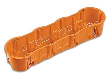 5 Stück Hohlwanddose Schalterdose Abzweigdose Hohlraumdose Ø 60 x 60 mm
