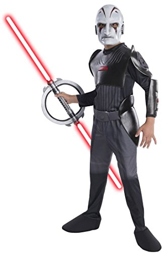 [Rubies Star Wars Rebels Deluxe Sith Inquisitor Costume, Child Medium] (Rebel Star Wars Costume)