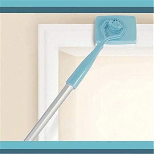 Verstellbarer Besen, Heimreinigung Ihrer Sockelleisten und Zierleisten, Blau