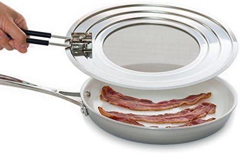 Shield  superdeal WOW Splatter Screen Guard Blocks Hot Grease Splash from Bacon