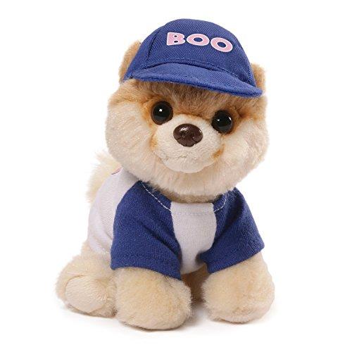 (GUND Itty Bitty Boo #031 Baseball Dog Stuffed Animal Plush, 5