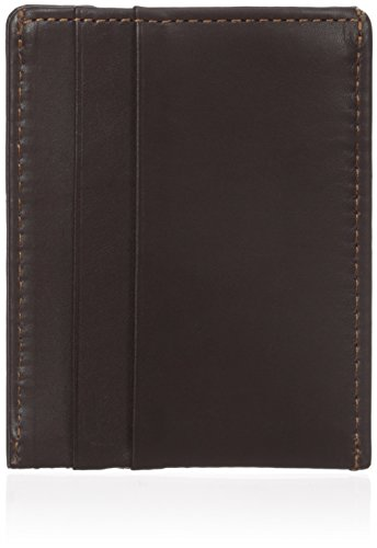 Dopp Men's Regatta Front Pocket Magnetic Money Clip Slim Minamalist Wallet, Mahogany, One Size - Mahogany Money Clip