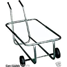 Brinkmann Garbage Can Rolling Caddy Holds 2) 30 Gallon Cans
