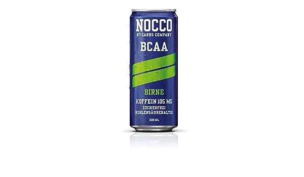 nocco BCAA Drink Incluye pfand - Sabor Pera - No Carbs Company Fitness Drink: Amazon.es: Salud y cuidado personal