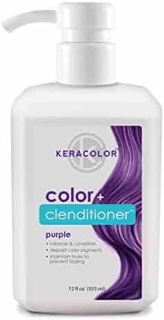 Keracolor Color + Clenditioner, 12oz (Purple)