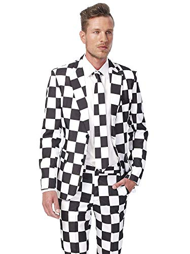 Pimp TigSuitmeister Suits for Men Comes with Jacket, Pants and Tie with Fun Prints er