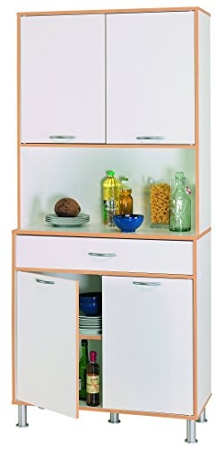 Hochschrank COOKY Küchenschrank Küchenregal Schrank 047 Küchentrolley Küche Neu