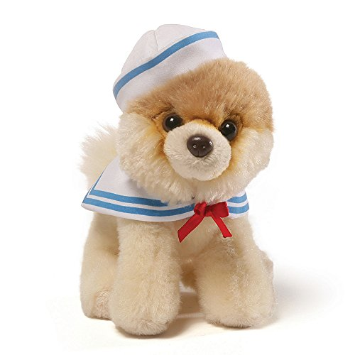 Bear Teddy Navy (GUND Itty Bitty Boo Sailor Dog Stuffed Animal Plush. 5