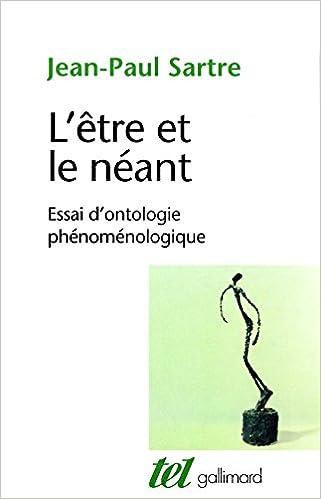 L'Être et le Néant - Jean-Paul Sartre