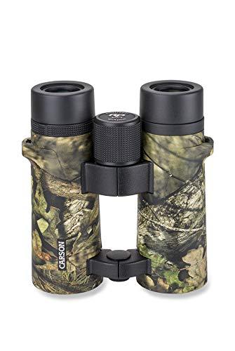 - Carson RD Series 10x42mm Mossy Oak Camouflage Open Bridge Waterproof Binoculars (RD-042MO)