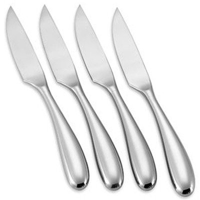 Frosted Steak Knife - Yamazaki Aquatique Ice 4-piece Steak Knife Set