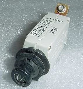 7274-11-7 1/2, MS22073-7 1/2, 7 1/2A Klixon Circuit Breaker -Rev