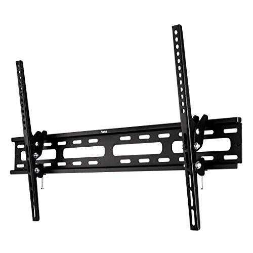 Hama TV-Wandhalterung Motion, neigbar für 94 cm-190cm Diagonale (37-75 Zoll) Fernseher (max. 40 kg) VESA 800x400 schwarz