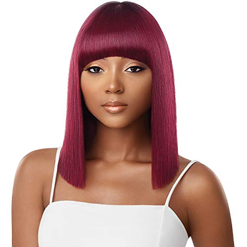 Outre Synthetic Hair Full Cap Quick Weave Complete Cap Bang Jodie (DR2730)
