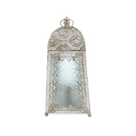 Art Deco Home - Lampara Sobremesa India 40 cm - 14680SG ...
