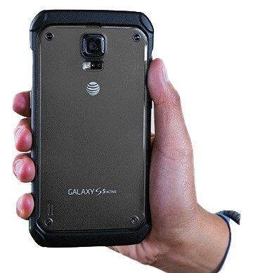 Samsung Galaxy S5 Active G870A Grey Standard Battery Door Back Cover - Galaxy S5 Back Door Case