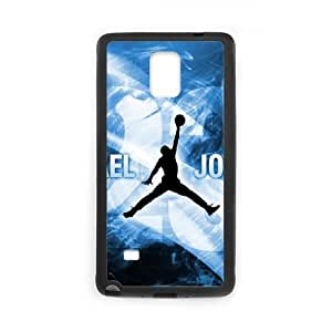 Samsung Galaxy Note 4 Cell Phone Case Black Jordan logo Hard Customized Phone Case Cover CZOIEQWMXN29787