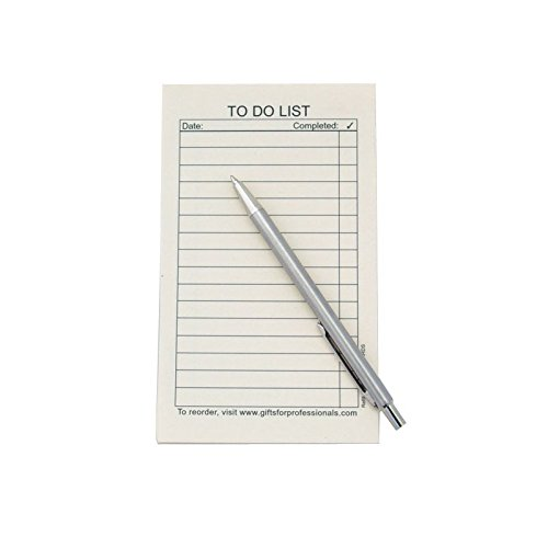 Note Jotter Things to Do Refill Cards - 3
