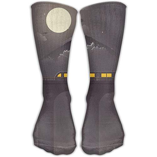 YUANSHAN Socks Train Wallpaer Women & Men Socks Soccer Sock Sport Tube Stockings Length 11.8Inch]()