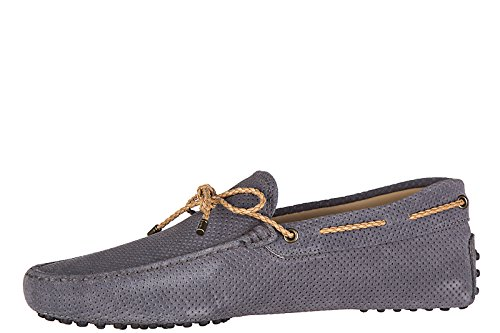Tod's mocassins homme en daim my colors new gommini 122 gris